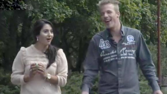 Hebben Madilia en potentiële bewoner Johan met elkaar gezoend?!