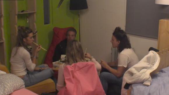 Noah, Chipp en de tweeling hebben een sushi date