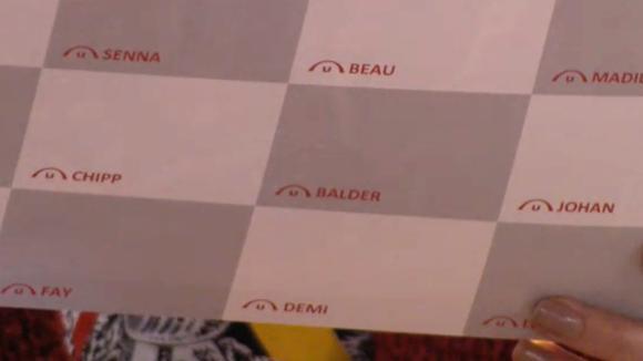 Jacco geeft Baldr zijn naam verkeerd door voor de fotokaart