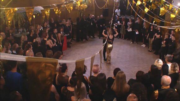 Chipp en Fay door de jury uitgekozen tot het beste dansduo van Latin Night