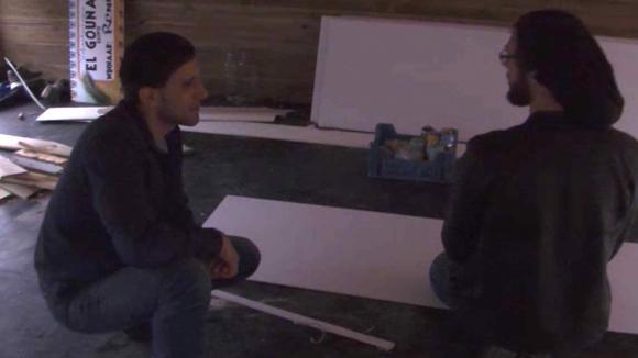 René en Mehmet praten na over de nominaties