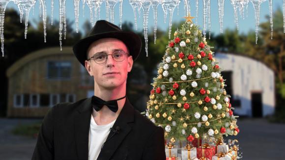 Senna gaat kerstbomen verkopen aan Utopia fans