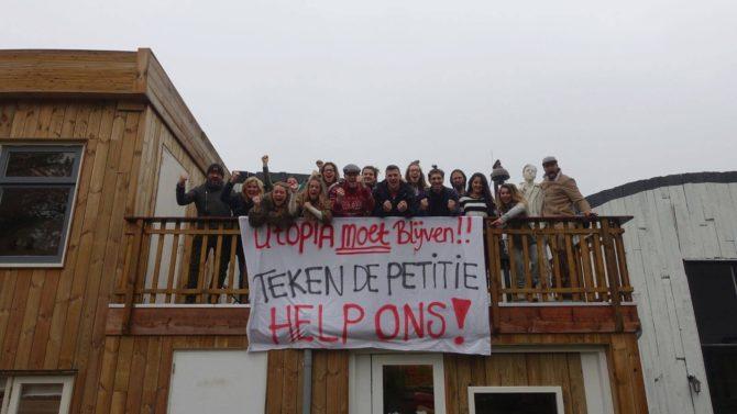 Utopia moet blijven! Steun jij de bewoners en teken je de petitie?!