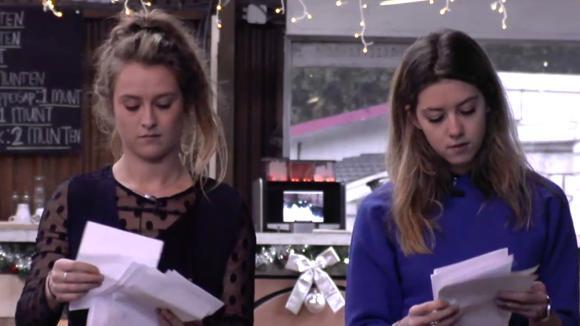 Demi en Romy organiseren een slaapkamer roulette