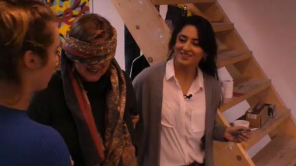 Madilia Romy en Cemal hebben een leuke verrassing voor José