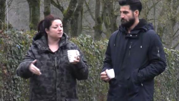 Linda en Ivan bespreken hoe het nu gaat tussen Madilia en haar