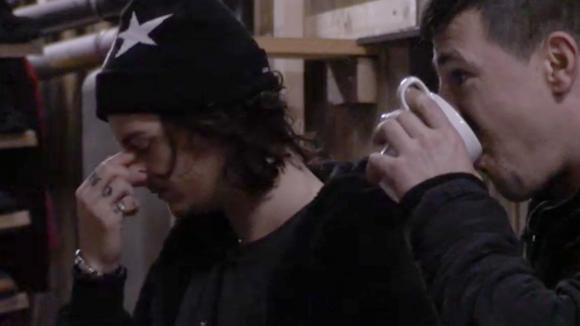 Volgens Chipp en Johan is René een trieste gast