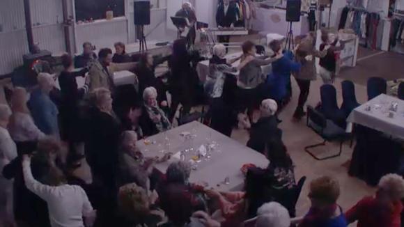 De ouderenavond in Utopia was een groot succes