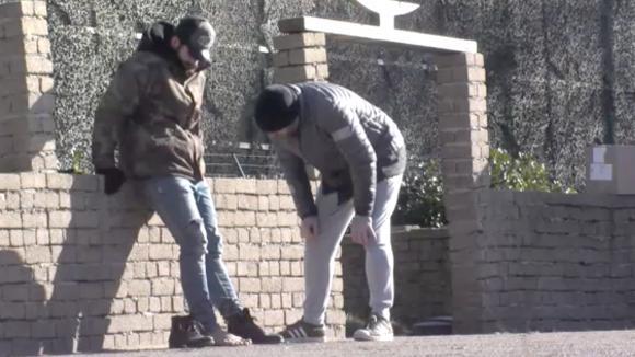 Ivan raakt gewond door een kar van driehonderd kilo die over zijn voet is gegaan